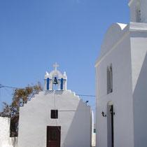 Panagiakirche und Kapelle