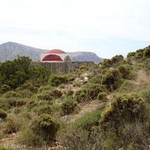 Leros: Alte Kapelle bei Merika