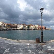 Regenschwerer Hafen