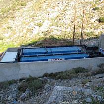 Ein Teil der Meerwasser-Entsalzungsanlage