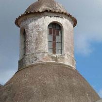 Kuppel der Kirche in Leni
