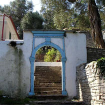 Tor zum venezianischen Haus in Vasilatika
