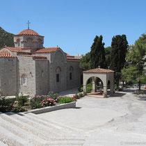 Im Kloster Evangelismos