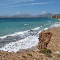 Fotogenen Küste - Kalymnos im Hintergrund