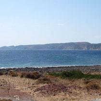 Blick auf Kythiras Südenostküste