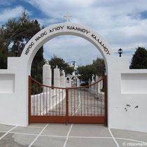Eingang zum Kloster Kalamos