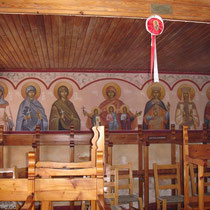 In der Kirche Timios Stavros