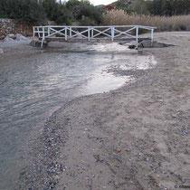 Brücke zum Hotel Saint Nikolas Villa