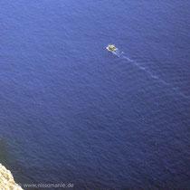 Chalki: Blick auf's Meer