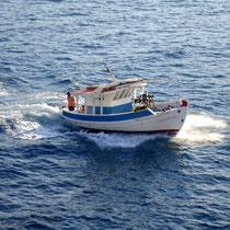 Karpathos: Kaiki im Hafen von Pigadia