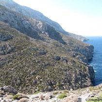 Auf dem Kalymnos-Trail