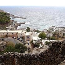 Kreta: Blick auf Sfakia von Agios Antonios