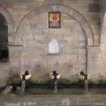 Die Brunnen unter der Marienkirche
