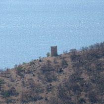 Wachturm bei Kap Pari