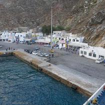 Der Athinios-Hafen