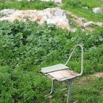 Bequemer Sitz
