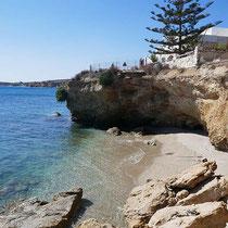 Strand in Dryos