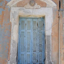 Karpathos: Türe in Olymbos