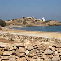 Xirokambos und Kapelle
