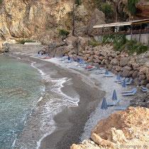 Der Vrissi-Strand
