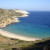 Der Strand von Kedros