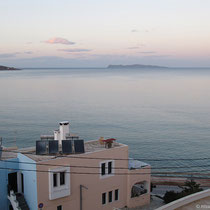 Abendblick von unserem Balkon...