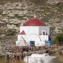Kasos: Kapelle zwischen Panagia und Polis