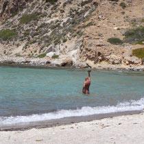 Milos: Plathiena-Strand