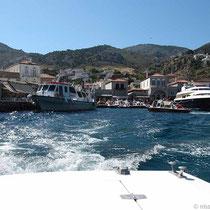 Raus aus dem Hafen