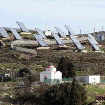 Solarenergie hat es auch
