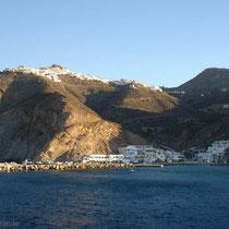 Anafi: Chora und der Hafen