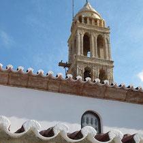 Glockenturm der Myrtidiotissa-Kirche