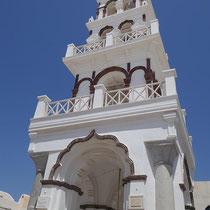 Glockenturm der Panagia Mesaní