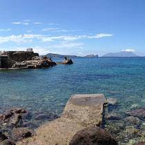 die kleine Bucht von Areti