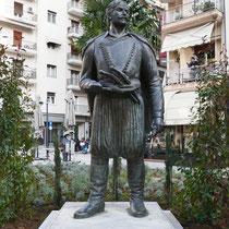 Kretischer Kämpfer für Mazedonien