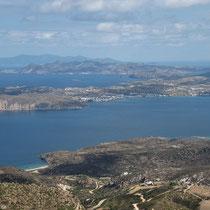 Sifnos, Kimolos, Nord-Milos