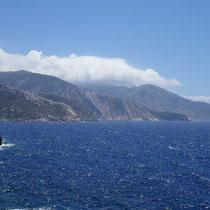 Profitis Ilias in Wolken