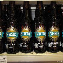 Nisos-Bier von Tinos - kein Schnäppchen