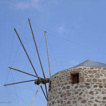 Kasos: Windmühle bei Agia Marina