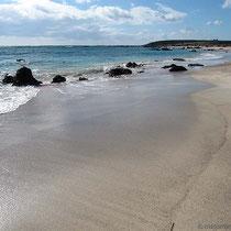 Strand auf..