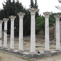 Säulenreihe