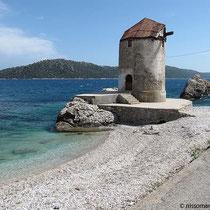 Die Mühle am Strand