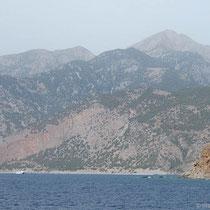 "Die ""Daskalogiannis"" nimmt Kurs auf Agios Pavlos"