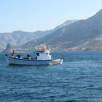 Fährboot nach Telendos