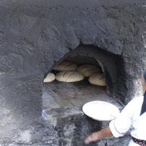 Karpathos: Der Ofen ist fast voll