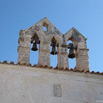 Glockenstuhl der Metropolitenkirche Estavromenos