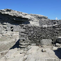 Steinhütten am Profitis Ilias