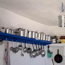 Kasos: Küche in Agioas Mamás
