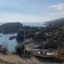 Blick auf die Halbinsel Alyki