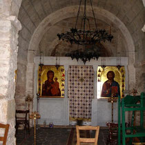 In der Kirche Agios Ioannis Theologos